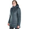 Berghaus Hudsonian Long Down Jacket Women Light Carbon Marl